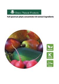 concentrated fruit and vegetable extracts