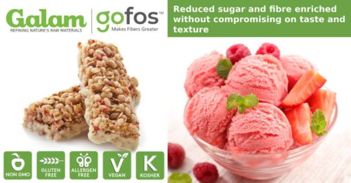 gofos reduced sugar and fibre enriched without compromising on taste and texture