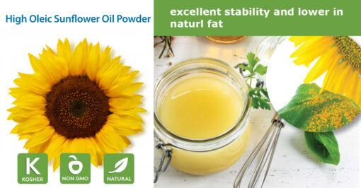 High Oleic Sunflower oil powder
